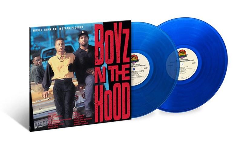 Boyz N The Hood soundtrack on vinyl