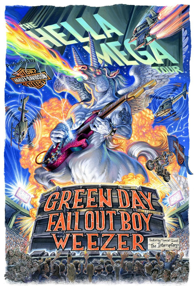 Hella Mega Tour - Green Day, Fall Out Boy, Weezer
