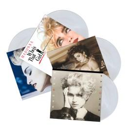 Madonna albums on clear vinyl