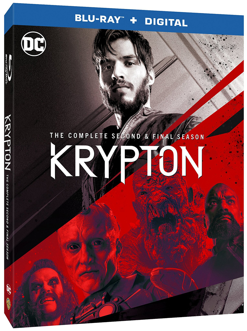 Krypton Second and Final Season Blu-ray