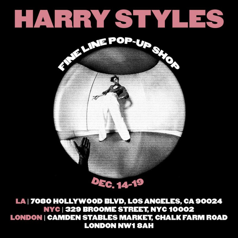 Harry Styles Pop-Up Shops