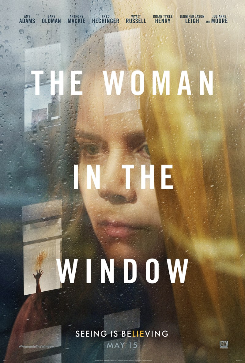 """The Woman In The Window"" starring Amy Adams"