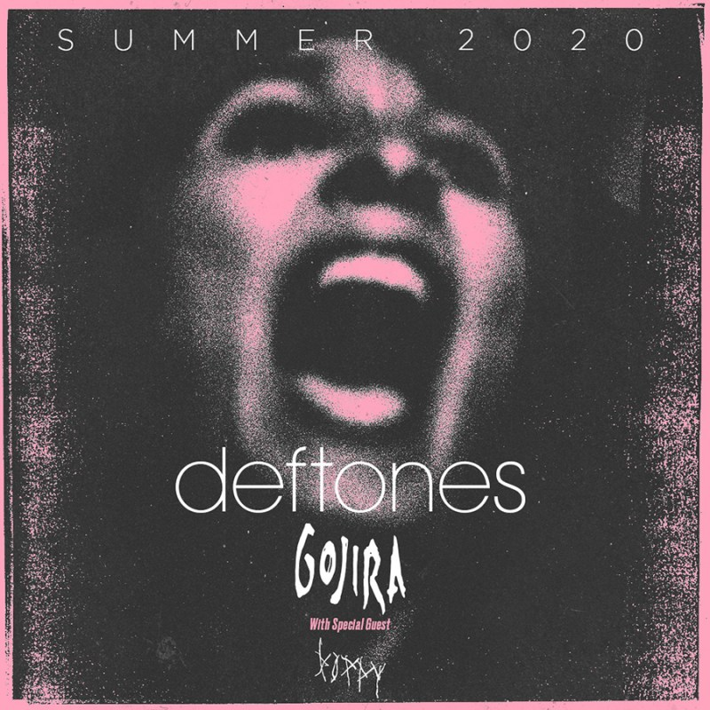 Deftones 2020 Summer Tour