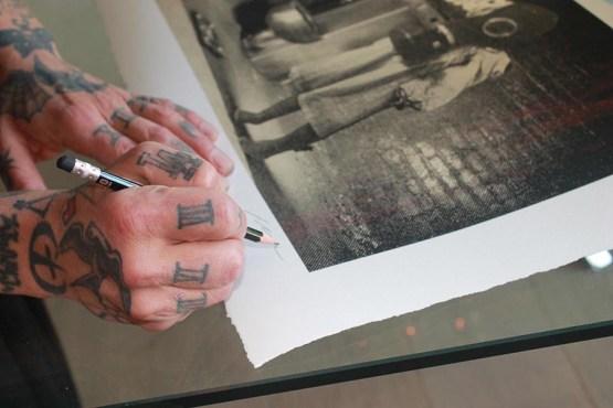 Dave Navarro - Art Print Signing