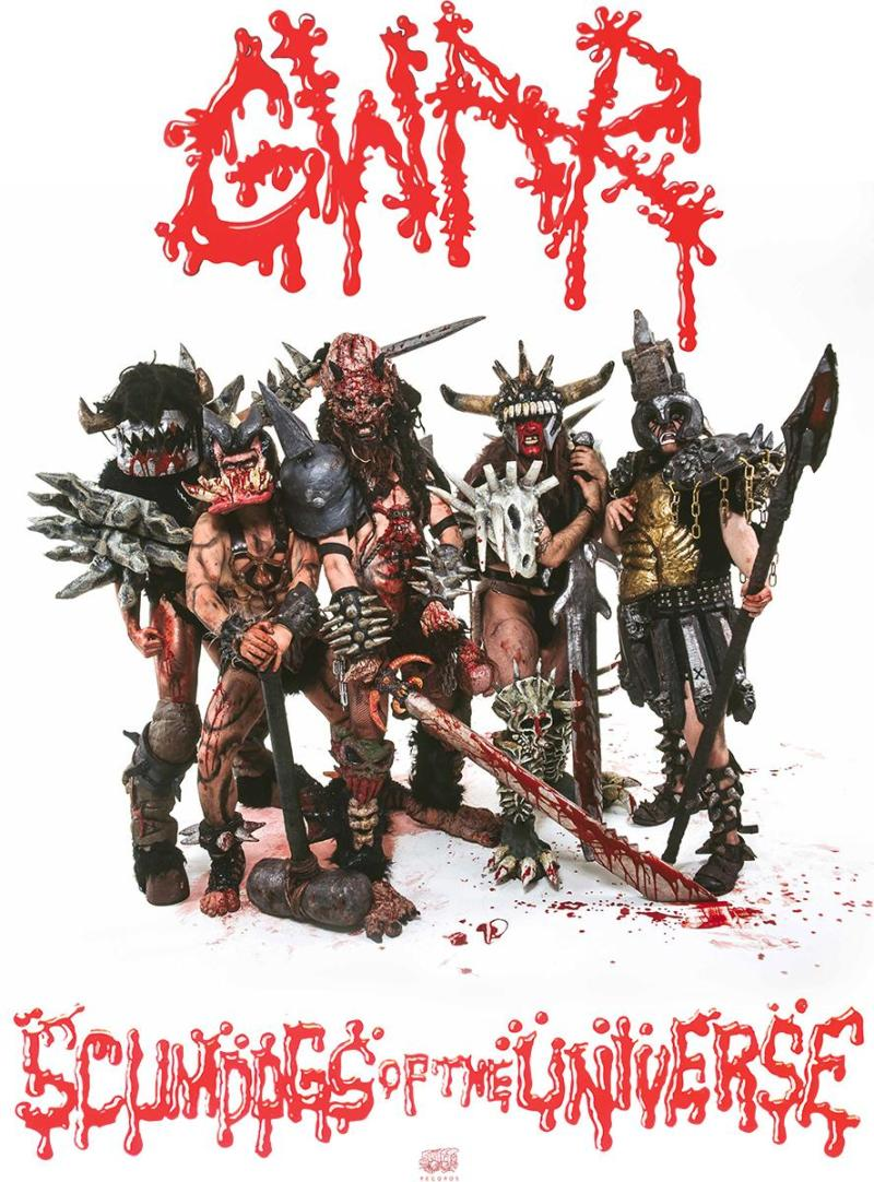 GWAR Scumdogs of The Universe 30th Anniversary