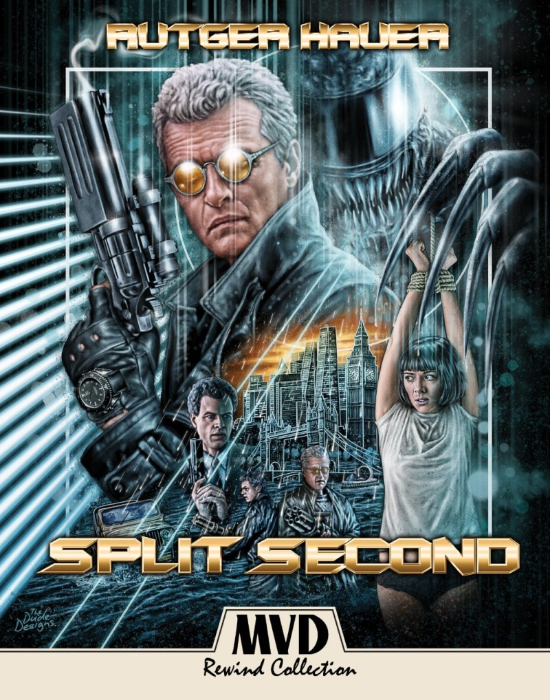 Rutger Hauer - Split Hauer - MVD Rewind Collection