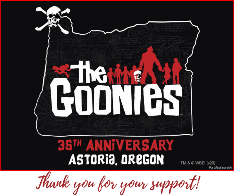 The Goonies 35th Anniversary