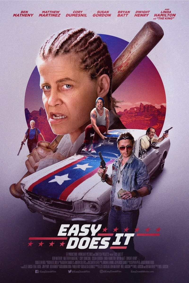 Linda Hamilton in 'Easy Does It'