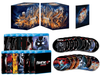 'Friday the 13th' Collection (Deluxe Edition) To Be Unleashed On October 13th Via Scream Factory! 'Friday the 13th' Collection (Deluxe Edition) To Be Unleashed On October 13th Via Scream Factory! 'Friday the 13th' Collection (Deluxe Edition) To Be Unleashed On October 13th Via Scream Factory!