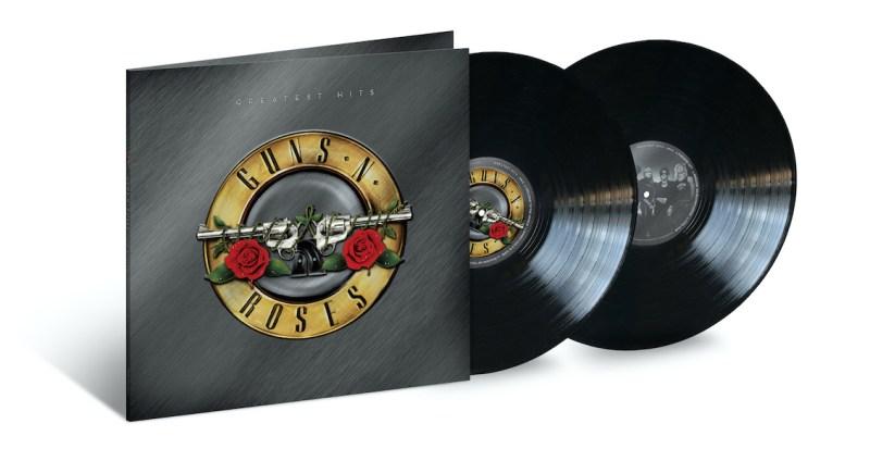Guns N' Roses Greatest Hits on vinyl