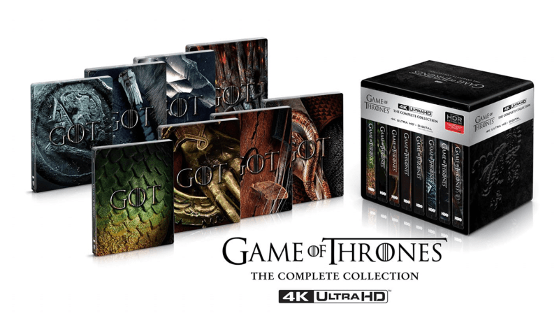 Game of Thrones: The Complete Collection - 4K Ultra HD
