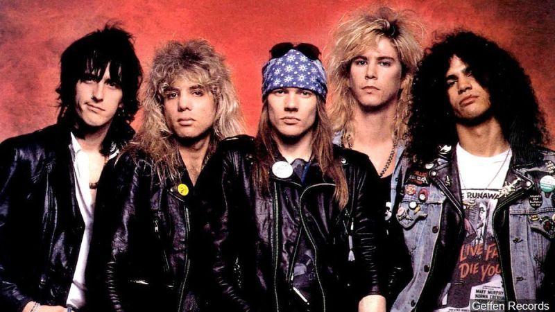 Guns N' Roses classic lineup