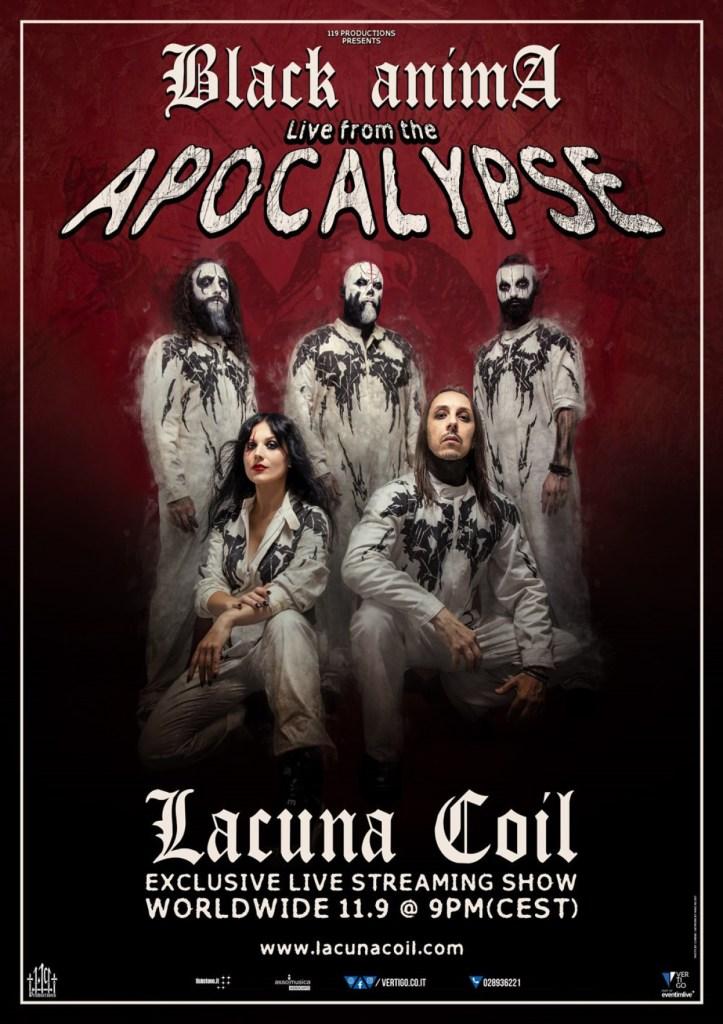 Lacuna Coil - Black Anima: Live From The Apocalypse