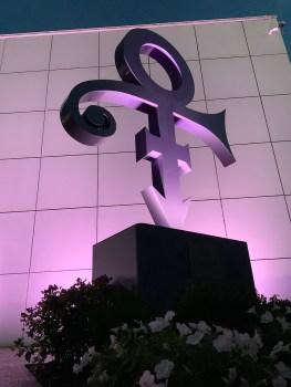 Prince's Love Symbol at Paisley Park