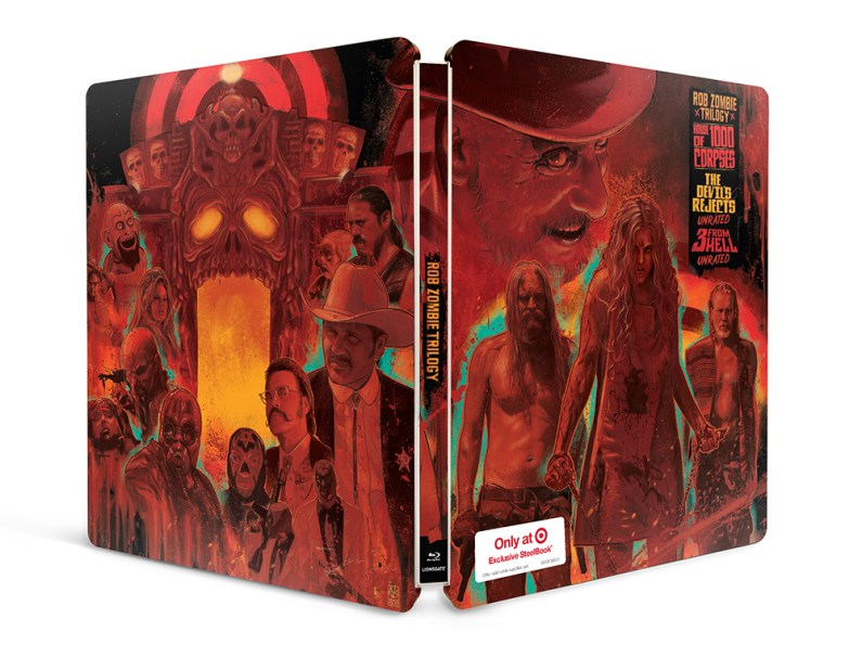 Rob Zombie Trilogy Steelbook