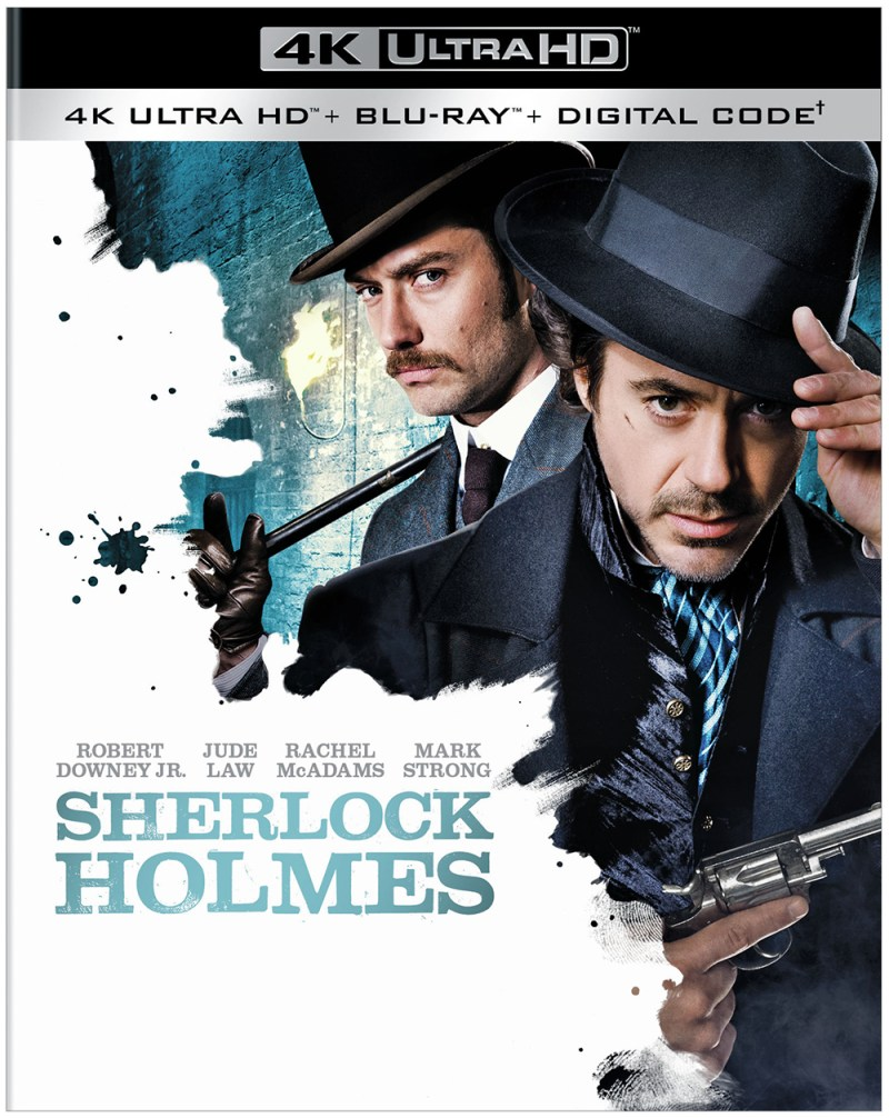 Sherlock Holmes: A Game of Shadows 4K Ultra HD Blu-ray