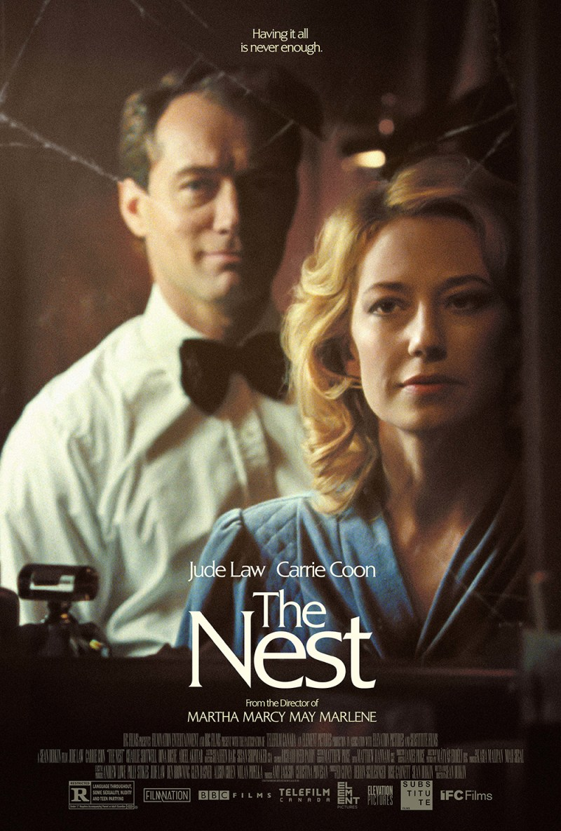 THE NEST: Official Poster Art Unveiled For Sean Durkin's New Film Starring Jude  Law and Carrie Coon - Icon Vs. Icon