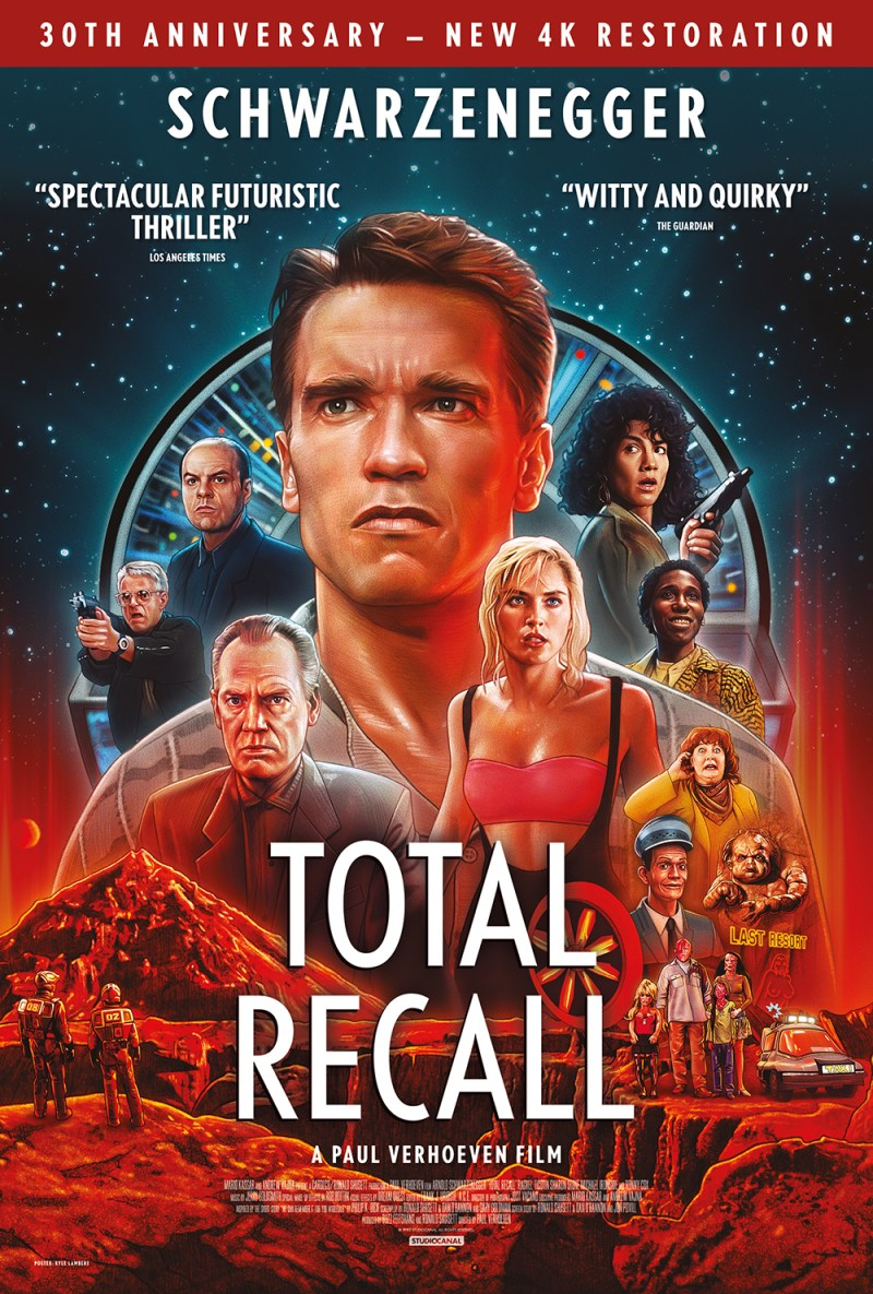 Total Recall - 4K Ultra HD - 30th Anniversary