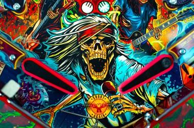 Guns N' Roses 'Not In This Lifetime' Pinball Game