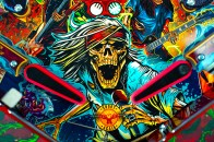 Guns N' Roses 'Not In This Lifetime' Pinball Game