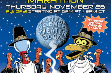Mystery Science Theater 3000 Turkey Day Marathon 2020