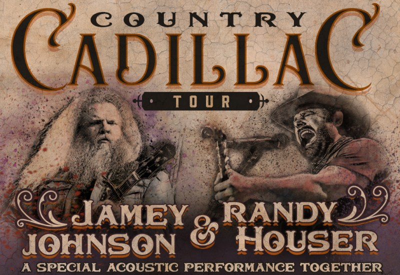 Jamey Johnson and Randy Houser Launch Country Cadillac Tour