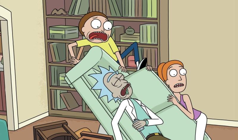 Rick and Morty: Seasons 1-4 on Blu-ray