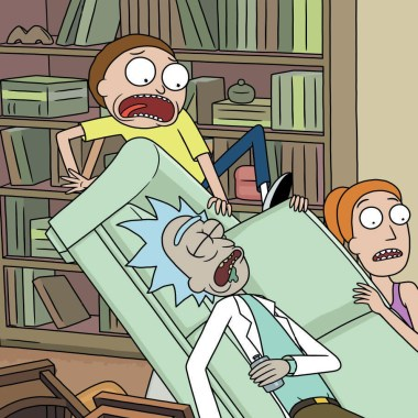 Rick and Morty: Seasons 1-4 on Blu-ray