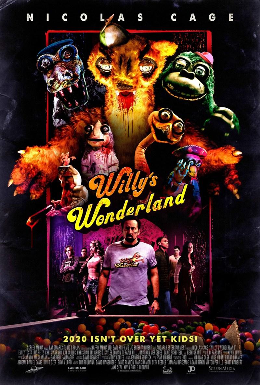 Willy's Wonderland starring Nic Cage