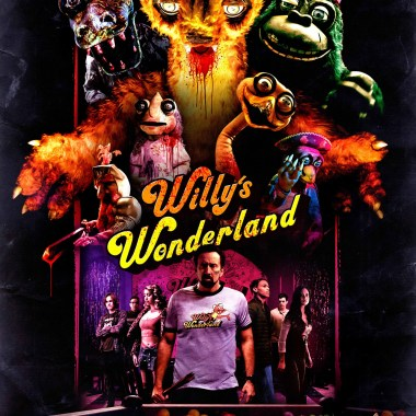 Willy's Wonderland starring Nic Cage