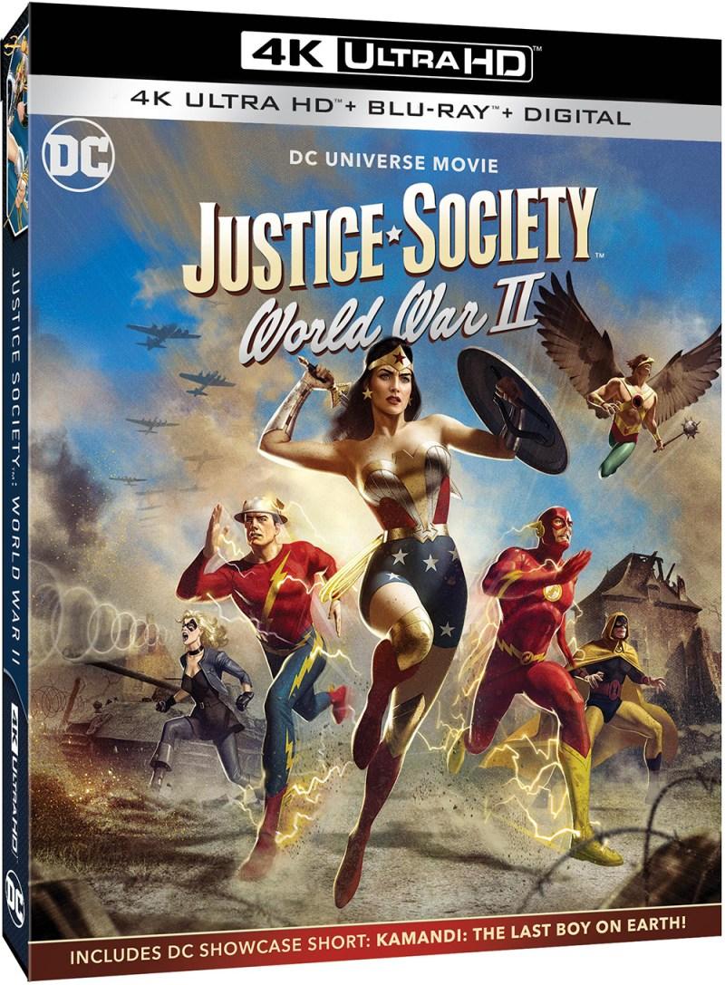 Justice Society: World War II - UK UHD release