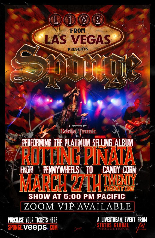 Sponge - Live From Las Vegas - Rotting Piñata