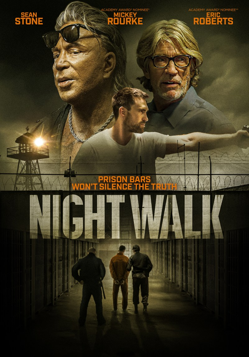 Mickey Rourke and Eric Roberts Star in NIGHT WALK