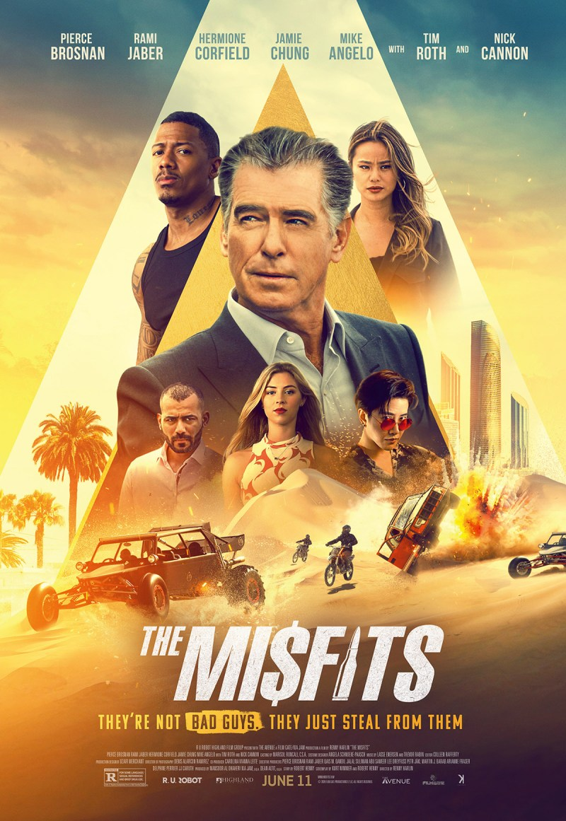 THE MISFITS: Official Trailer Debuts For High-Octane Pierce Brosnan Action  Thriller! - Icon Vs. Icon