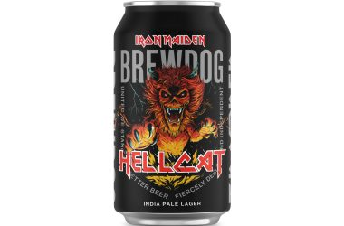 Iron Maiden x BrewDog - HELLCAT India Pale Lager