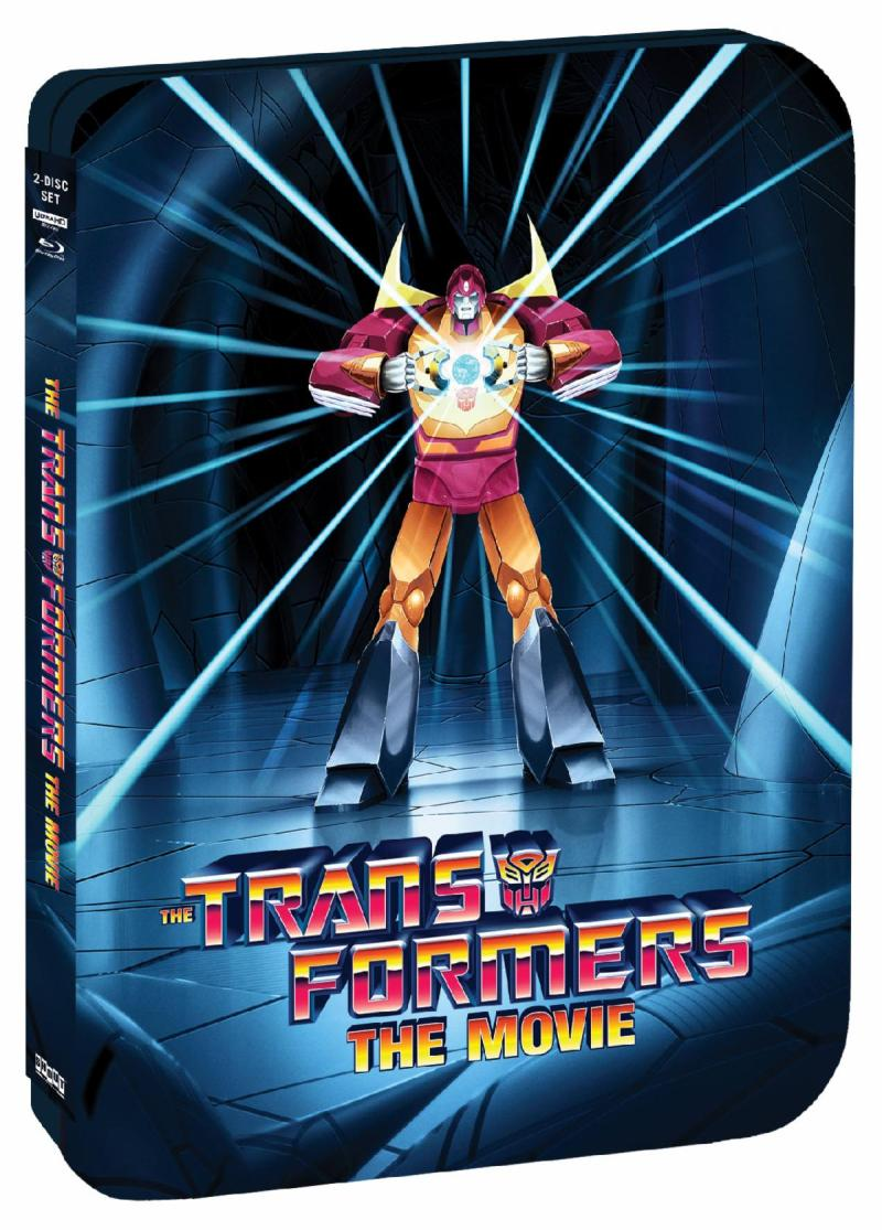 'The Transformers: The Movie' 35th Anniversary Limited Edition SteelBook Out August 3 from Shout! Factory