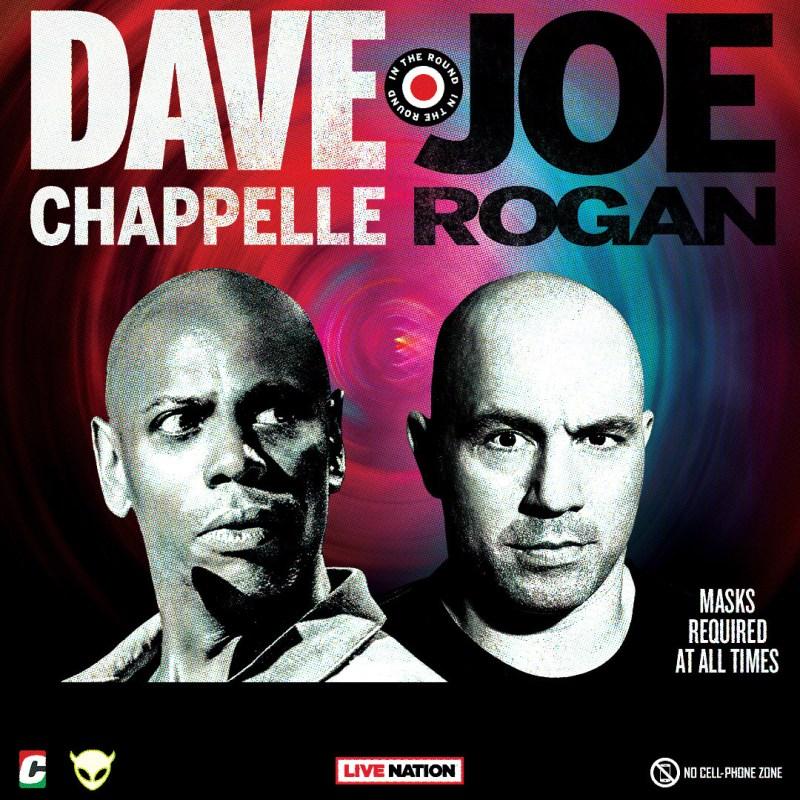 Dave Chapelle and Joe Rogan