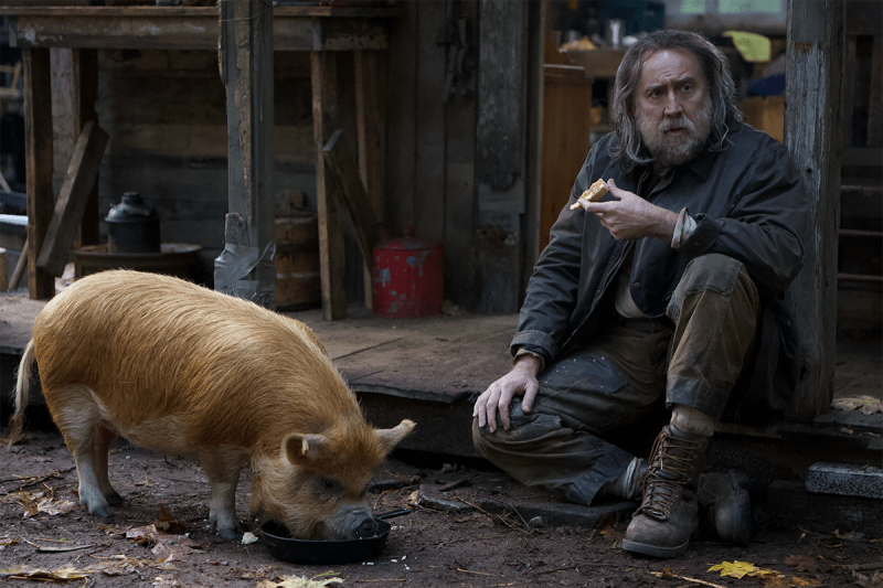 Nicolas Cage in 'PIG'