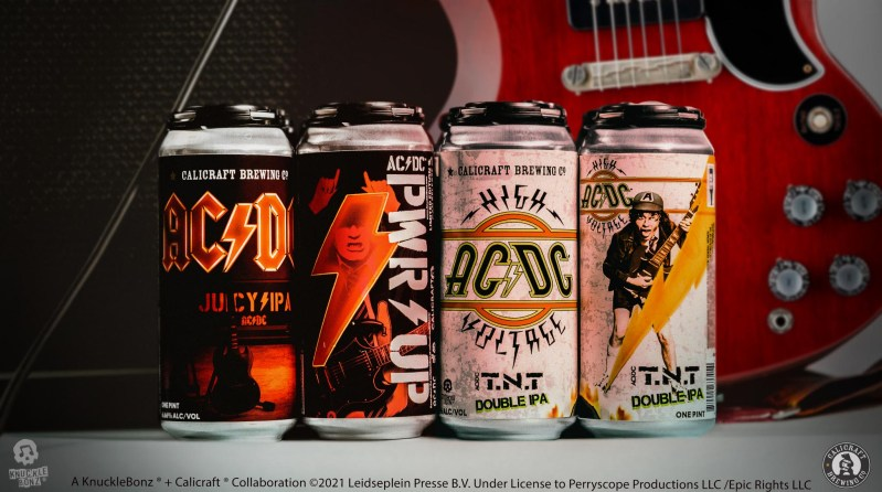 KnuckleBonz, Inc. and Calicraft Brewing Co. AC/DC Beer