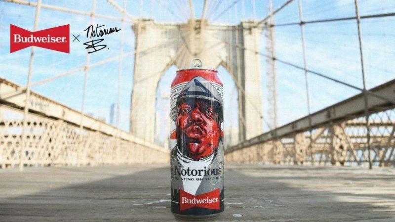 Budweiser x Biggie Tall Boy