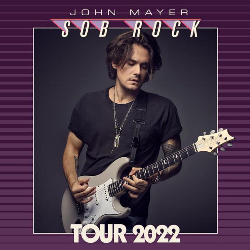 JOHN MAYER Sob Rock Tour 2021