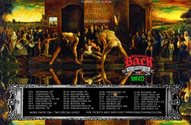 Sebastian Bach 30th Anniversary Slave To The Grind Tour