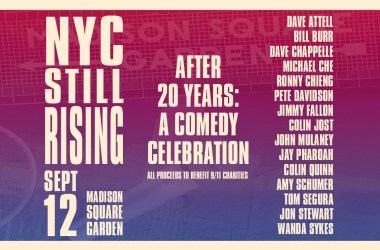 NYC STILL RISING AFTER 20 YEARS: A COMEDY CELEBRATION