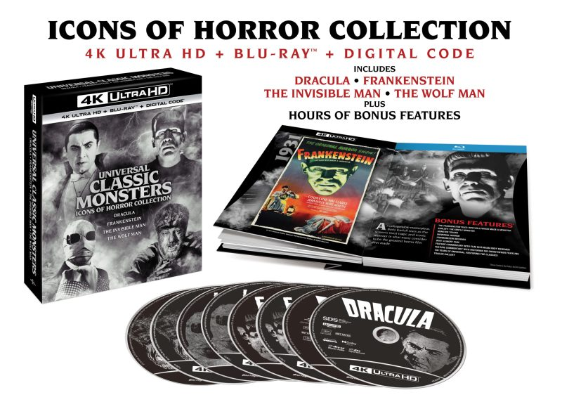 Universal Classic Monsters Icons of Horror Collection