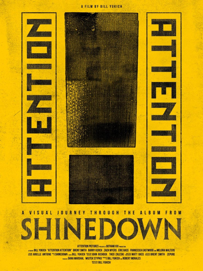 Shinedown - 'Attention Attention' Film