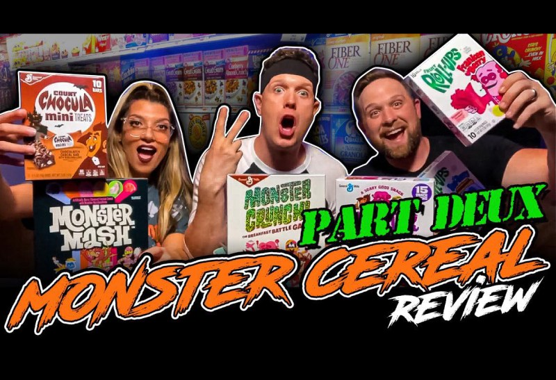 Born 2 Be Rad - Monster Cereals Review