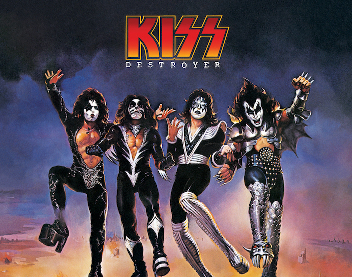 KISS DESTROYER Super Deluxe Anniversary Edition