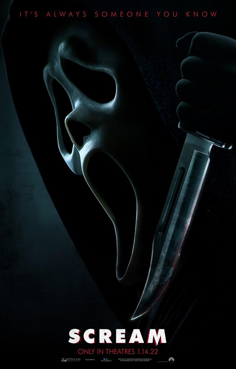 SCREAM - 2022 Official Teaser Poster