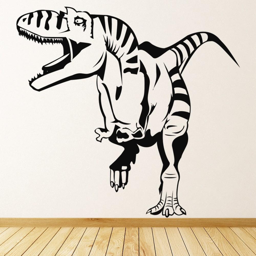 T Rex Wall Sticker Jurassic Dinosaur Wall Decal Kids