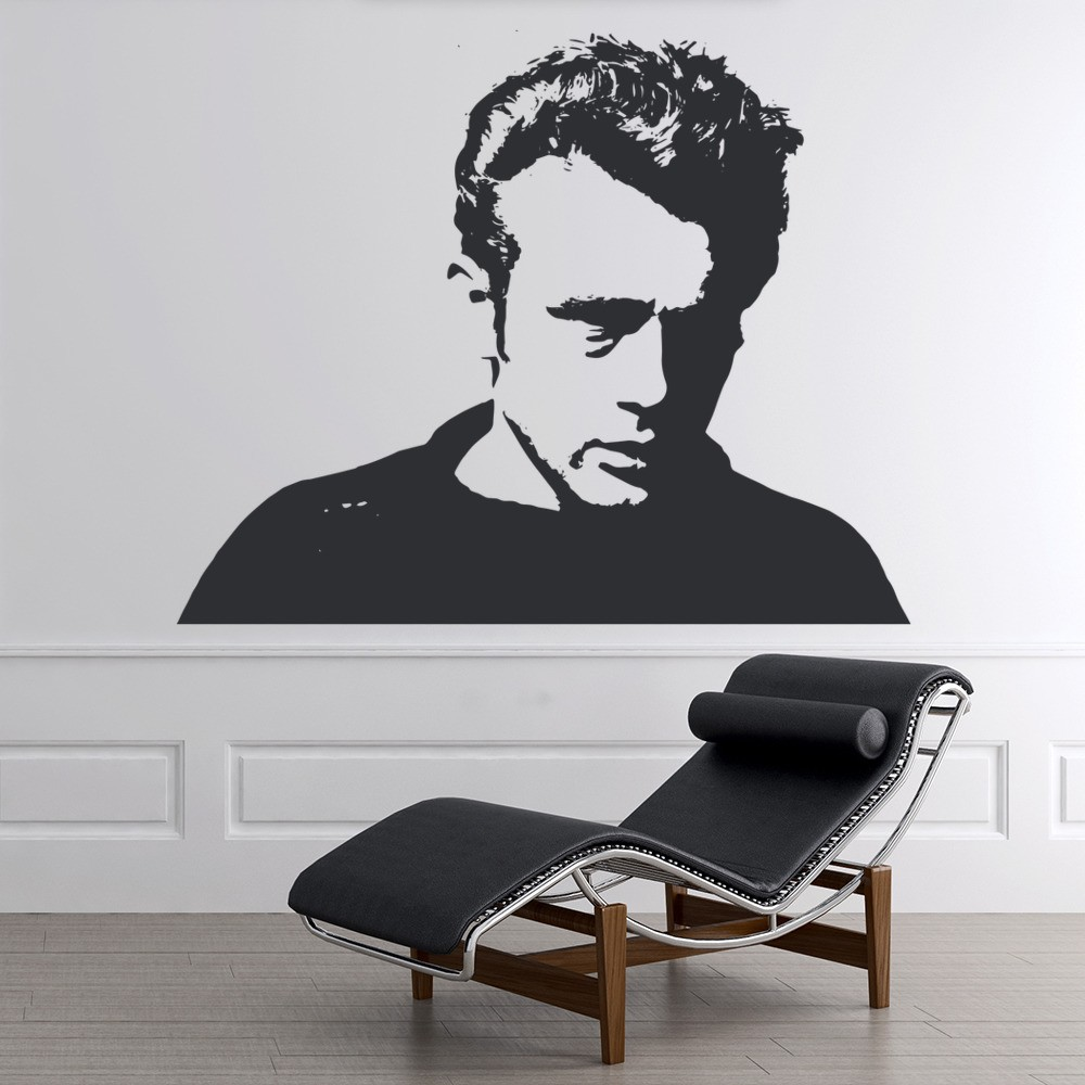 James Dean Wall Sticker Iconic Wall Art
